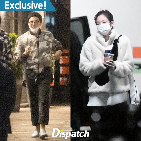D社曝权志龙Jennie热恋一年,GD早有暗示,YG声明默认