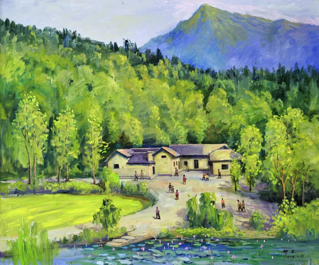 名家风采——柳玉先生油画作品