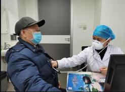 盐城滨海港经济区中心卫生院积极开展冬季慢性病患者健康体检活动