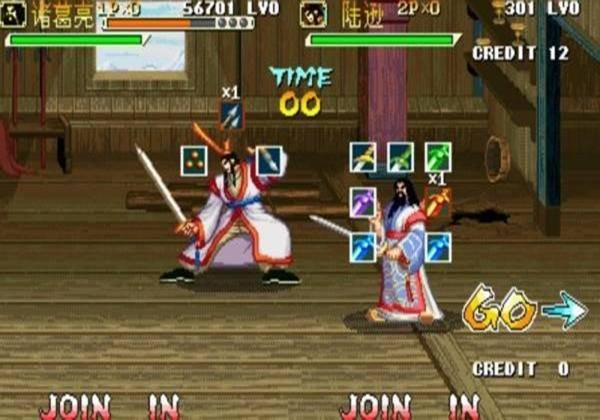"""街机游戏《三国战纪》四剑最全攻略,""""无限连冰""""和爆剑你选谁?"""