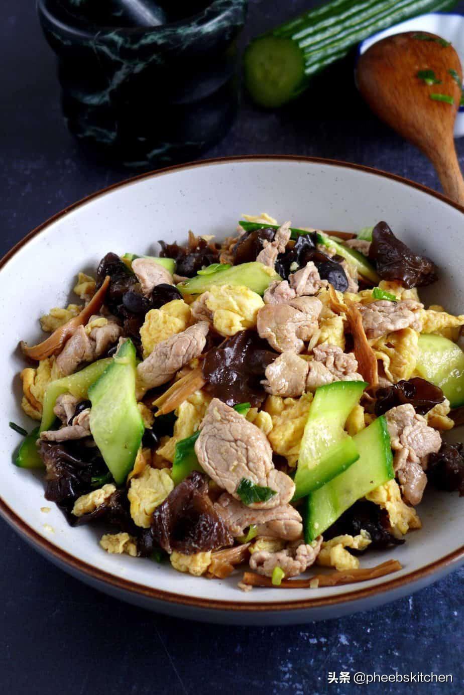 山东传统菜木须肉,营养丰富,很适合老人和孩子,家常做法 美食做法 第1张