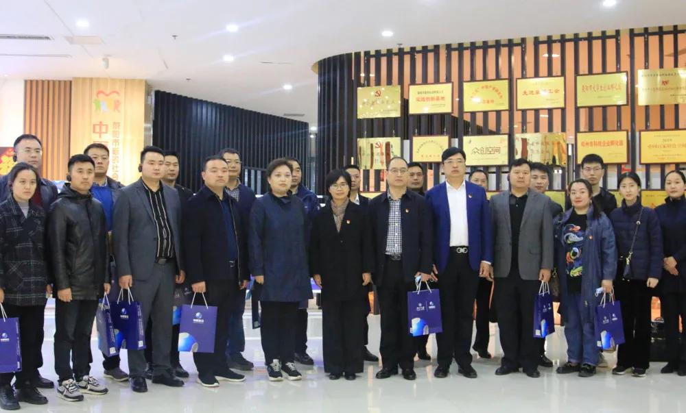 李文军到荥阳市考察新阶层人士实践创新基地建设工作