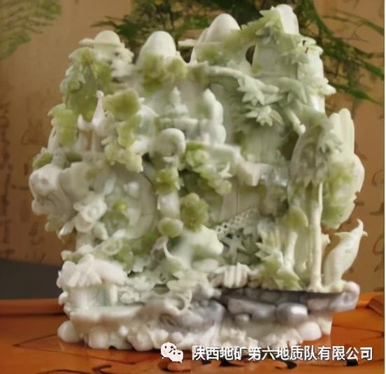 西安宝玉石开发利用历史极为悠久,除了蓝田玉,还有石榴石