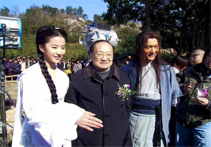 16岁的刘亦菲,和聂远试镜《神雕侠侣》,像从书里走出来的一样