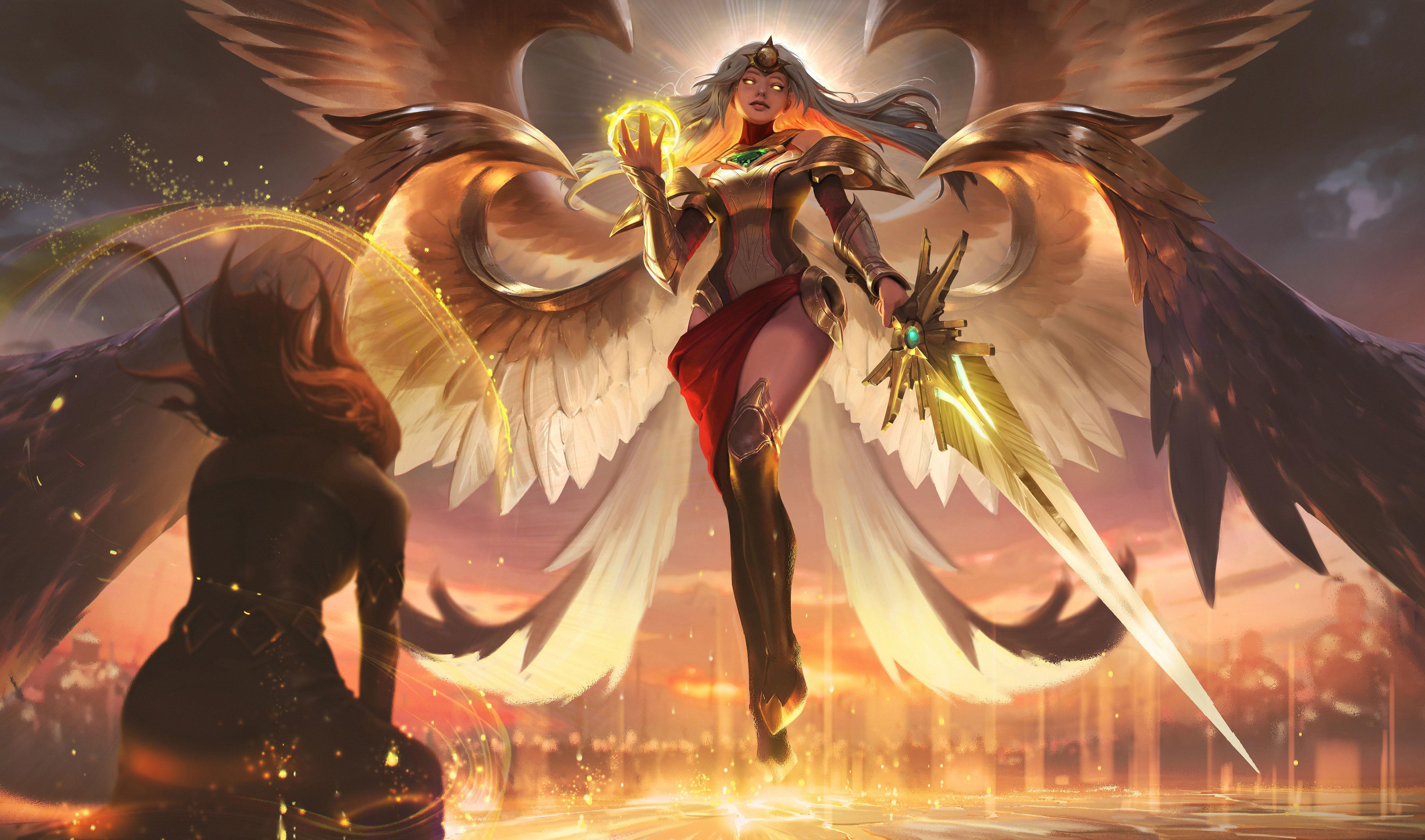 云顶之弈:6骑天使思路