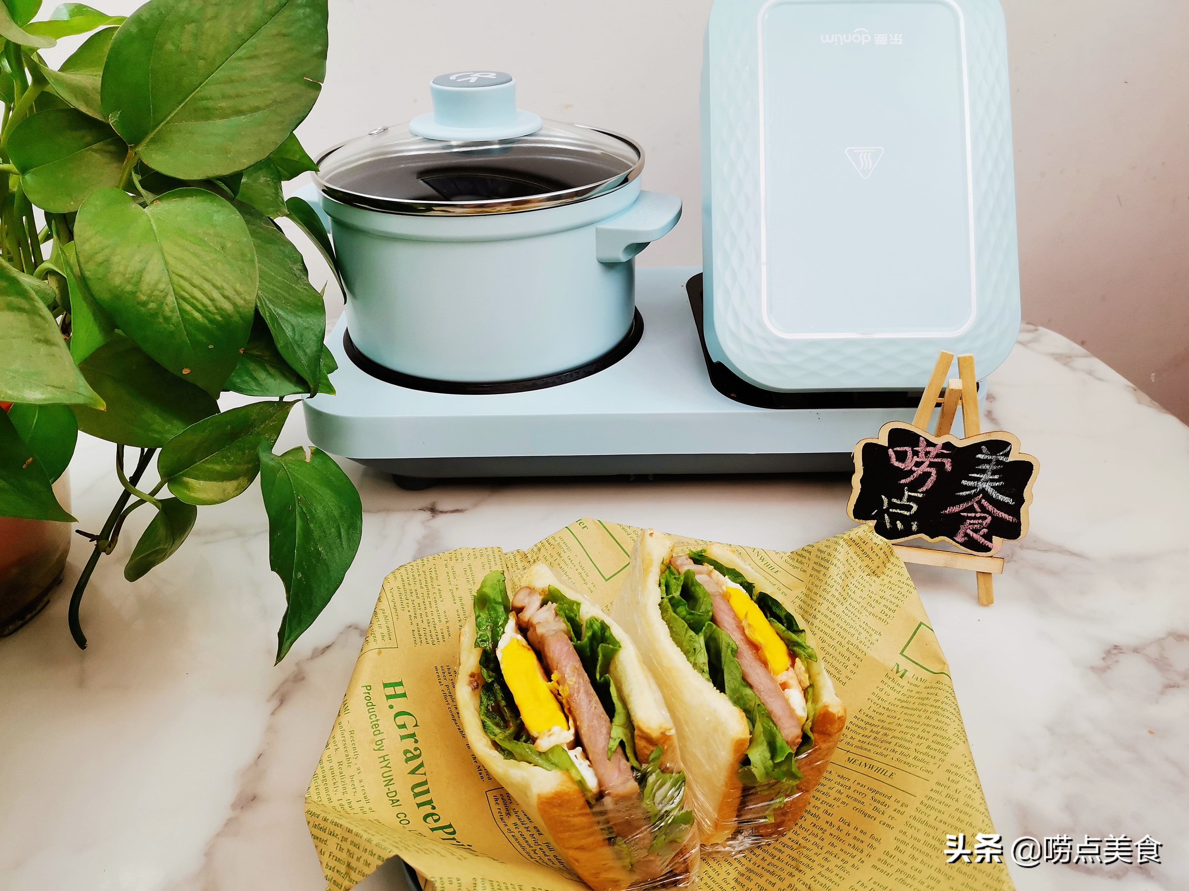 美式早餐牛肉三明治怎么做 各地小吃 第1张