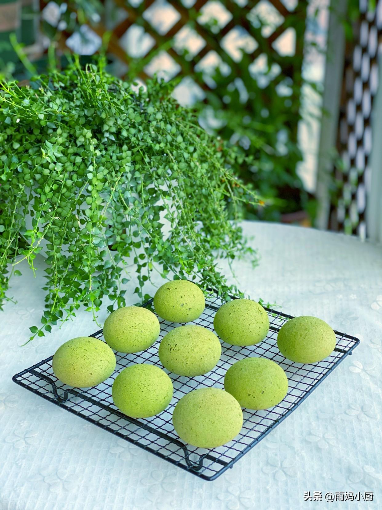 网红麻薯球,在家轻松做,揉面只需三分钟,个个鼓包不回缩