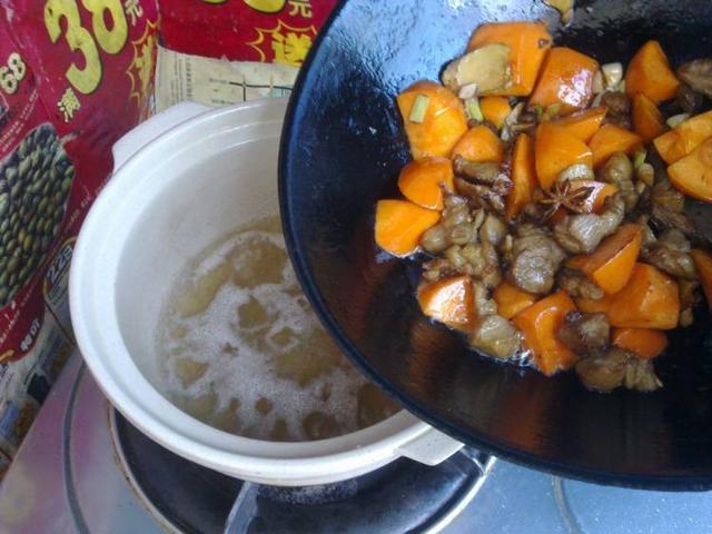 冬天的滋补品,胡萝卜炖羊肉,好吃不腻 食疗养生 第13张