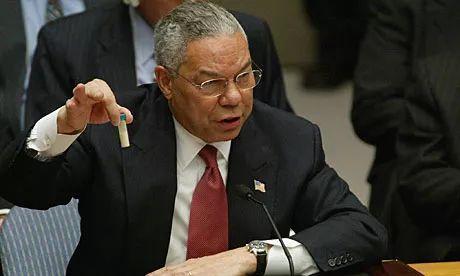"""美国在联合国安理会上拿出一瓶白色粉末,为何被称为是""""洗衣粉"""""""