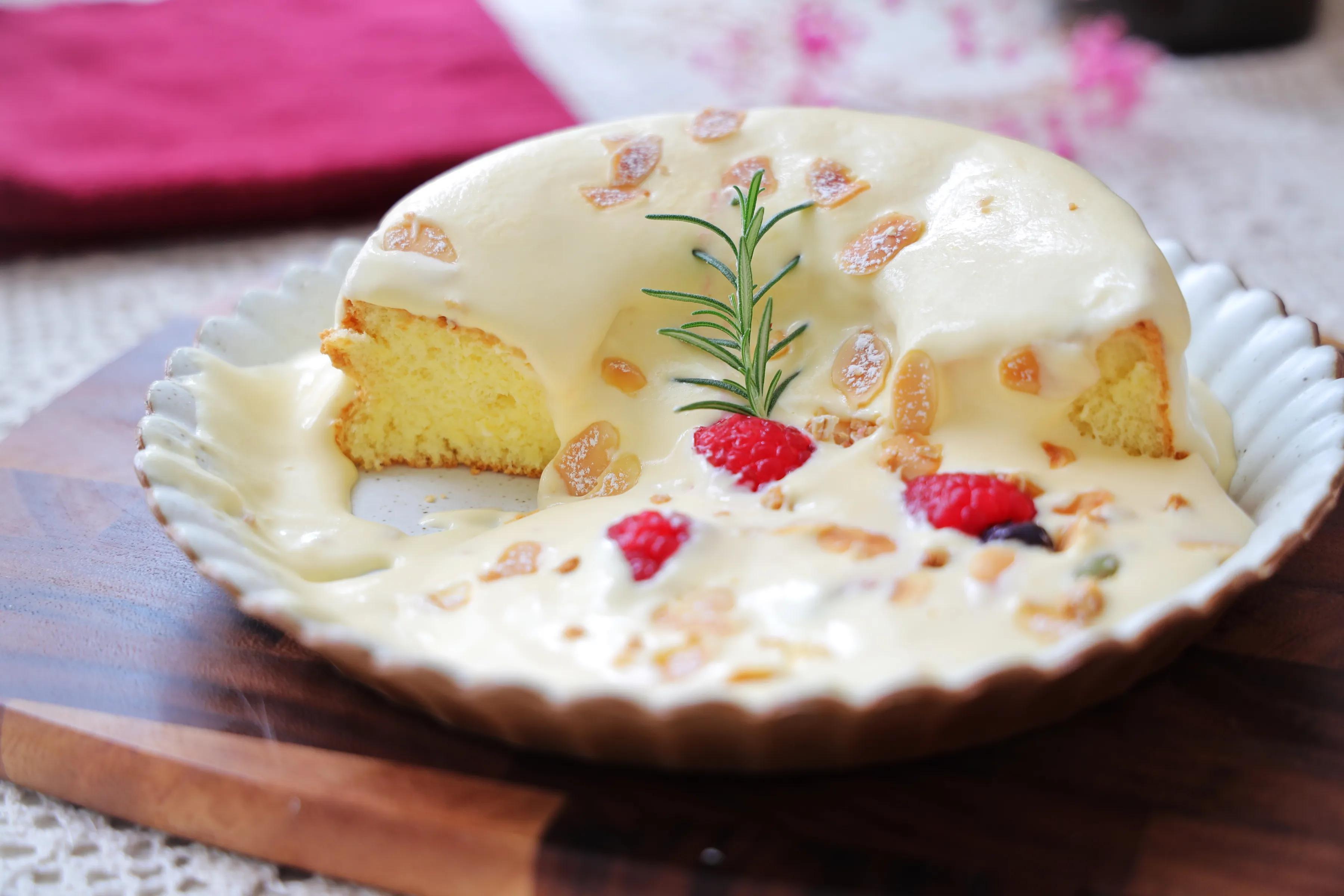粉丝朋友点名要的网红爆浆蛋糕,切第一块的时候太治愈,味道超赞 美食做法 第2张