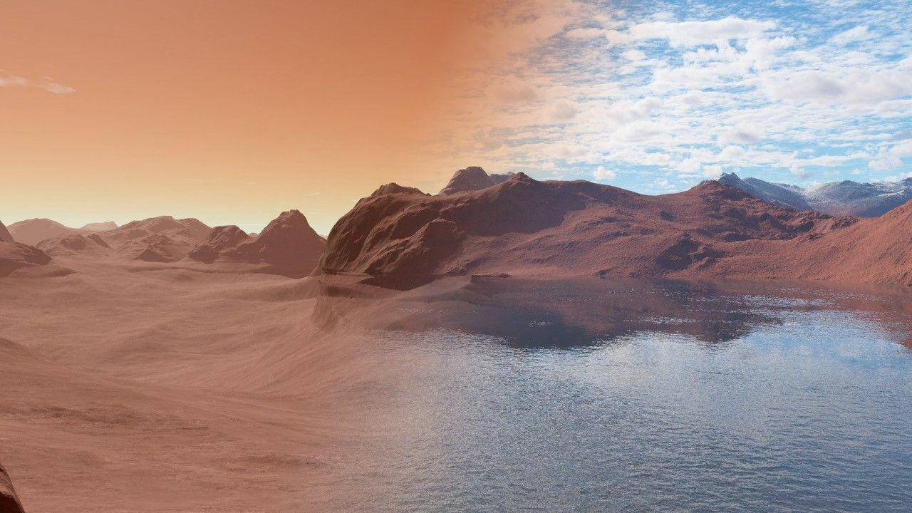 火星上的水都去哪儿了?是什么导致了火星干涸?