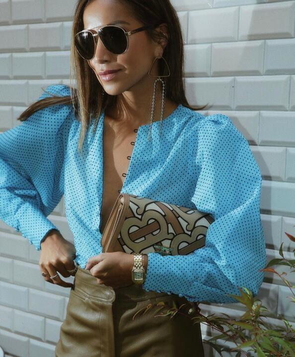 小麥膚色的時尚博主Julie Sarinana 簡約時髦的穿搭收編粉絲