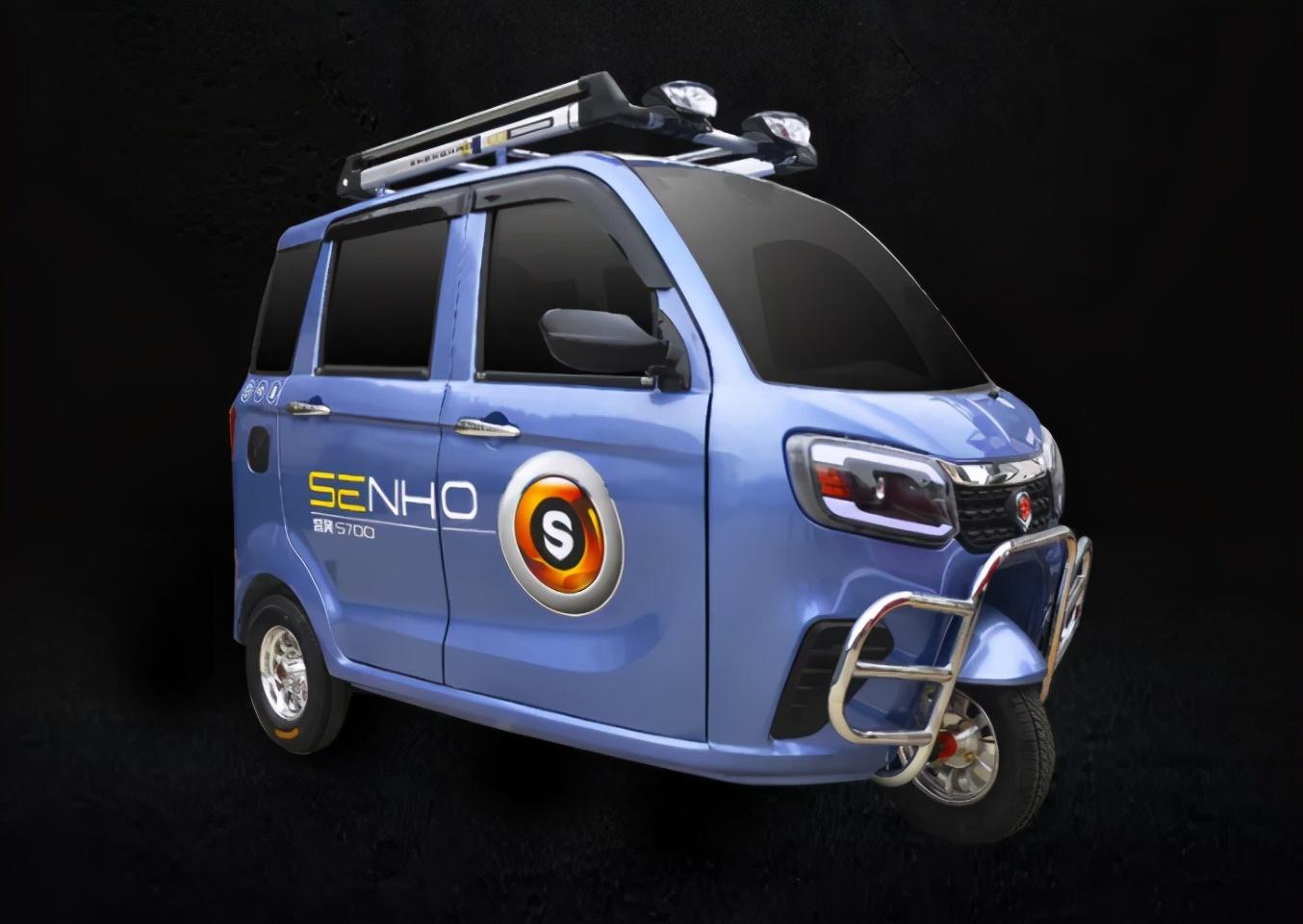 2款电动三轮篷车,空间大,功能实用,还配暖风配置