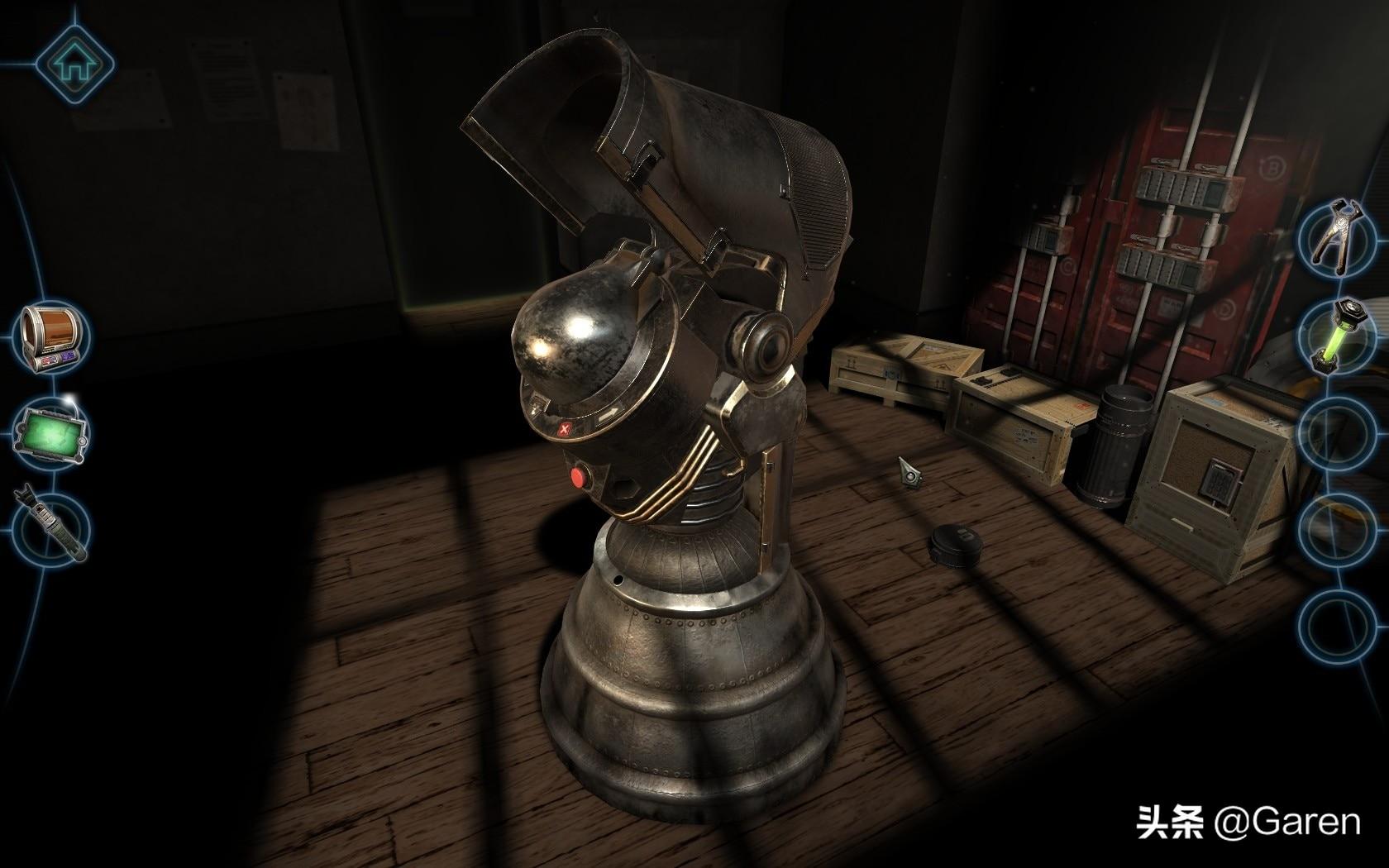 走进这个氛围浓厚的解谜游戏,跨越整个星系,探索神秘的地外装置
