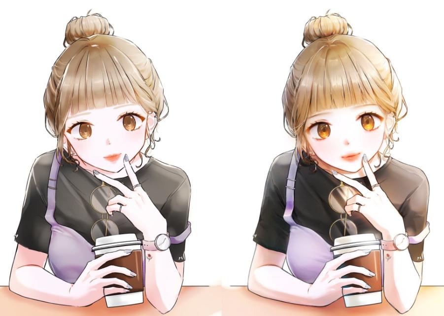 動漫角色也能「化妝」?韓國畫師分享改圖,完工的效果太驚豔