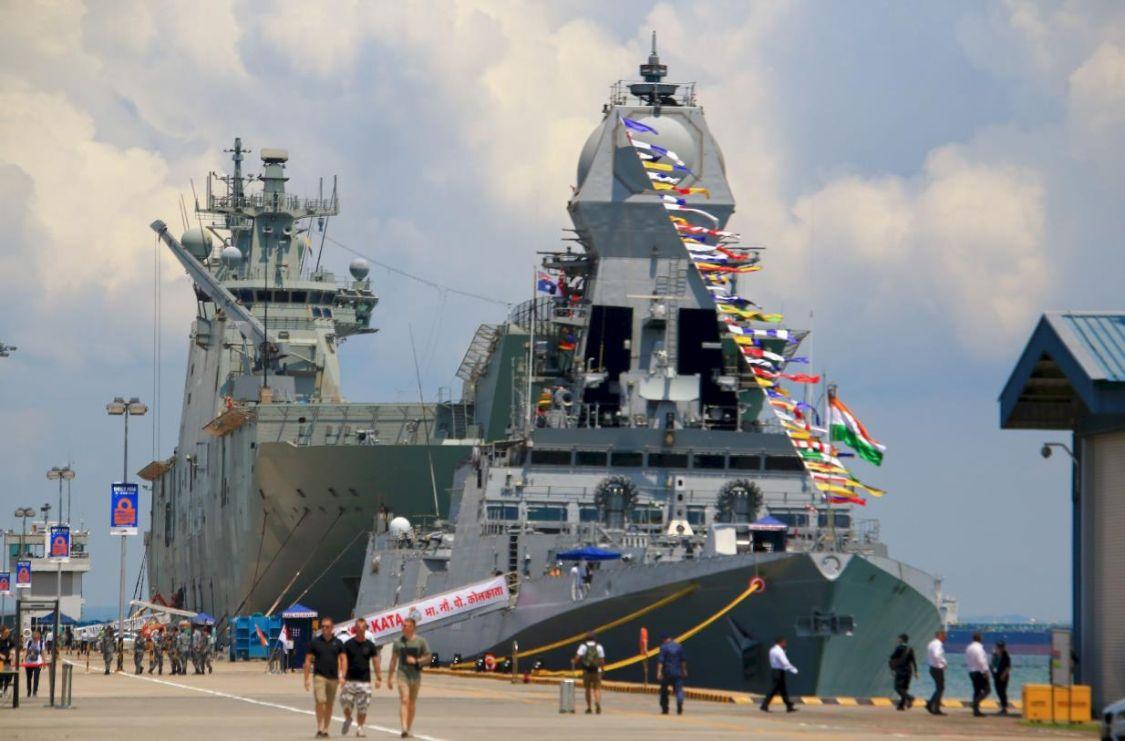 亚洲第一:印度计划造P18型万吨大驱,纸面性能超过中国055