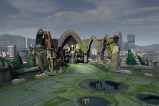 """当你在《GTA5》中玩到""""英雄联盟""""是什么体验?防御塔被推了?"""