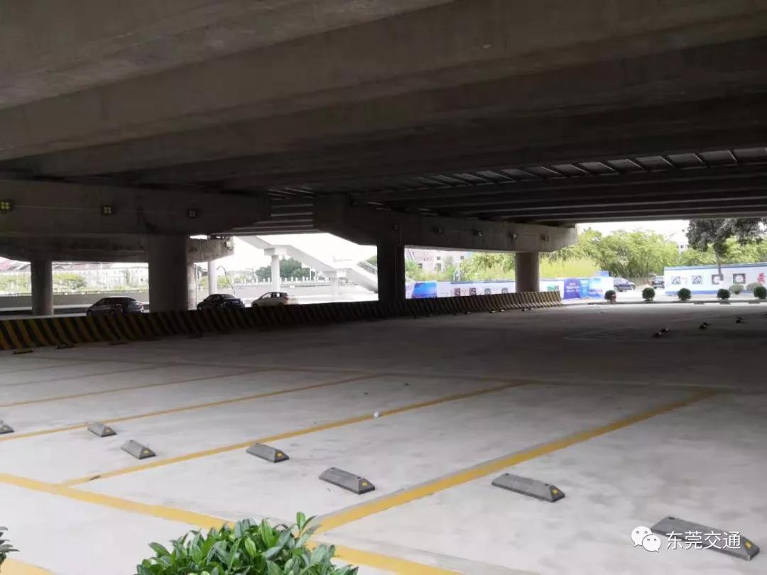 好消息!东莞将这些地方改造成停车场!以后大把位停车