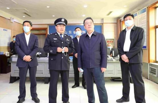 王玉君到枣庄调研督导法治建设和司法行政工作