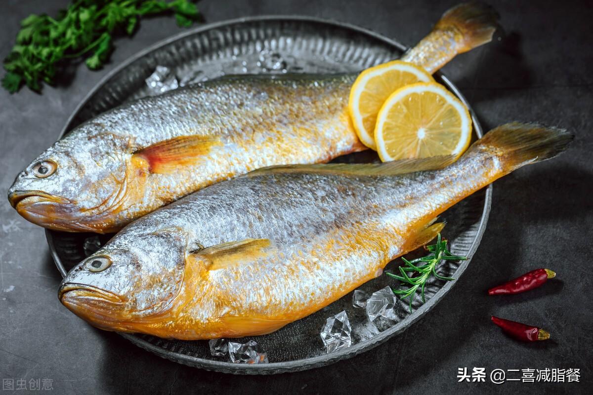 营养师的一天的减脂三餐,补脾养胃的糖醋大黄鱼做法来了 减肥菜谱做法 第1张