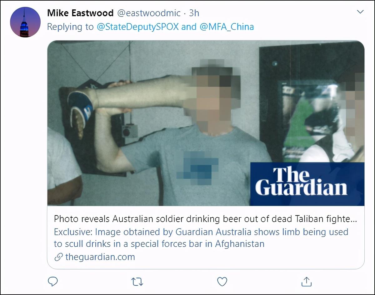中澳最新!莫里森要求中国道歉后,微信平台批评帖文被封锁