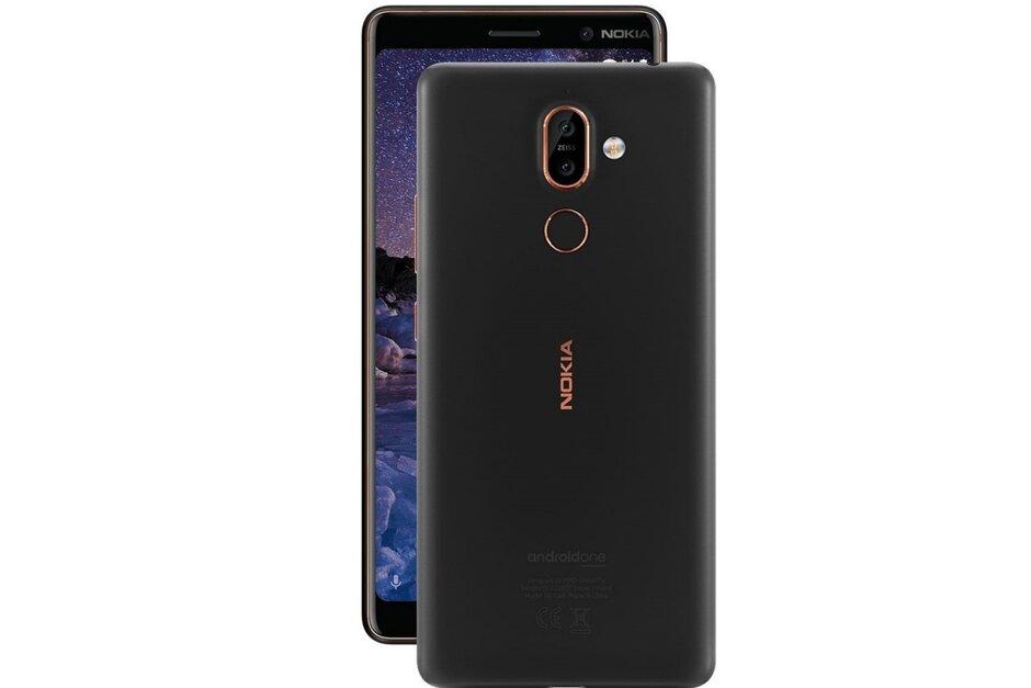 Nokia公布第五次Android 10升级,诺基亚7 可升級