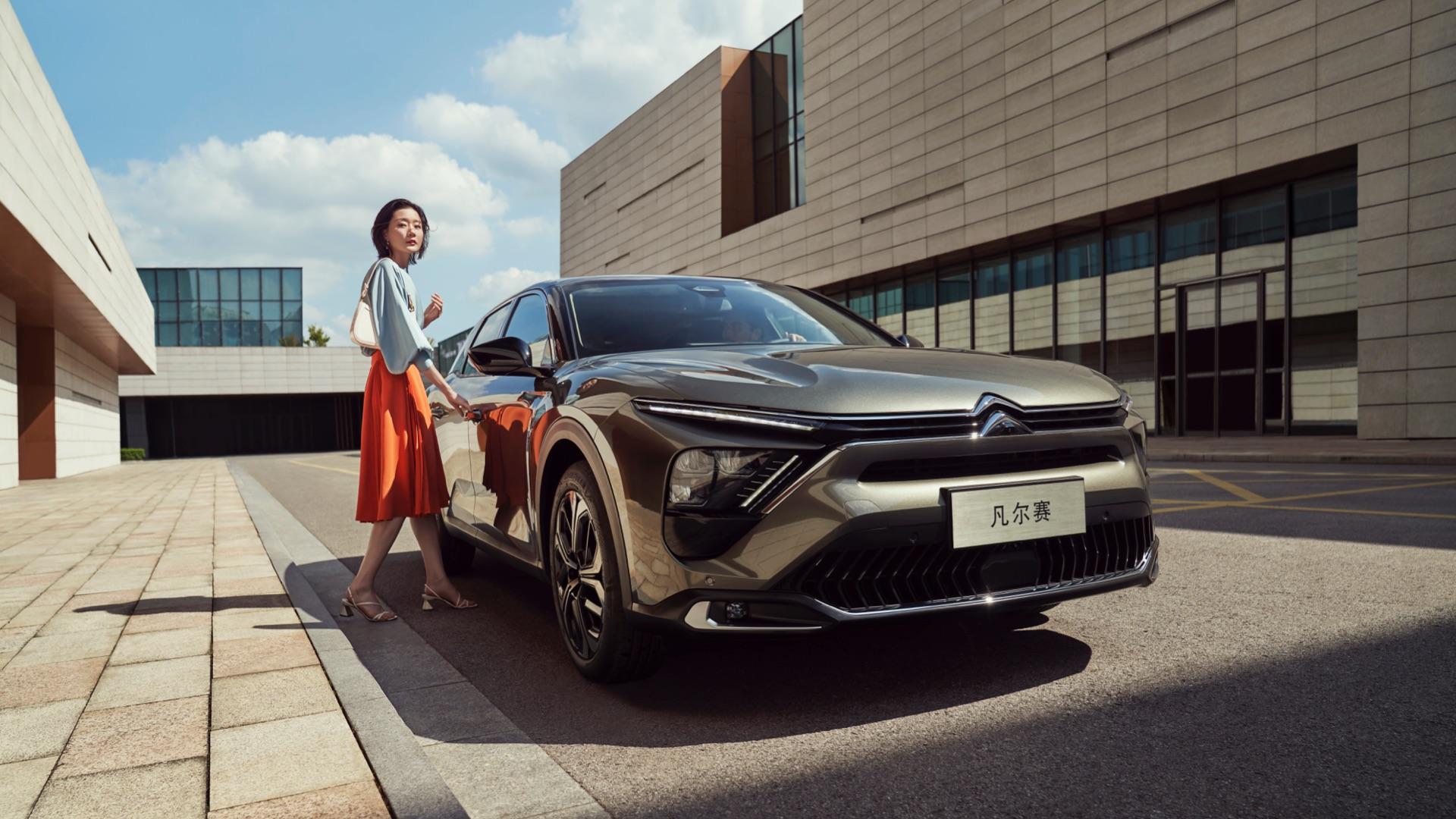 法系品牌在华翻身之作,东风雪铁龙凡尔赛C5 X上市售14.37万元起