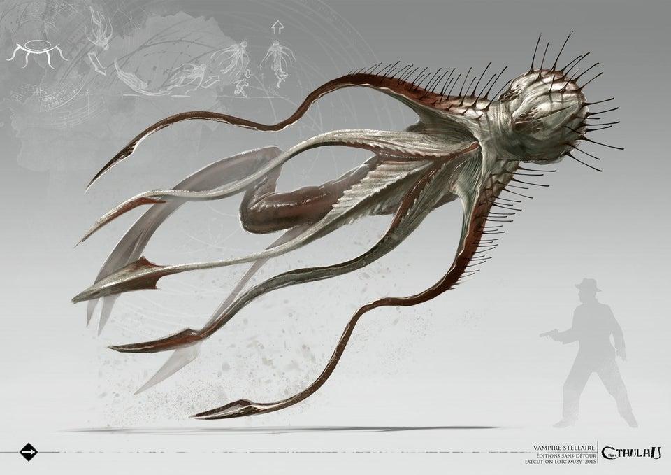 克苏鲁神话生物——星之精
