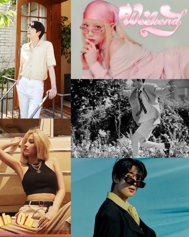 七月将是solo大战!金泰妍,都暻秀,田小娟将陆续发售个人专辑