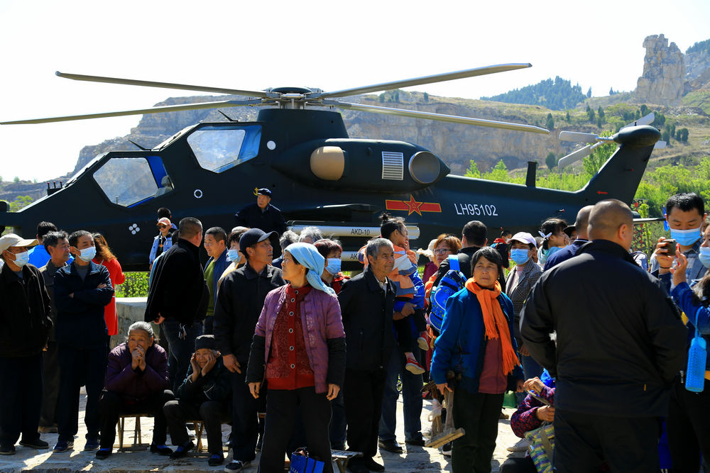 山东青州:大山里建起航空国防教育基地