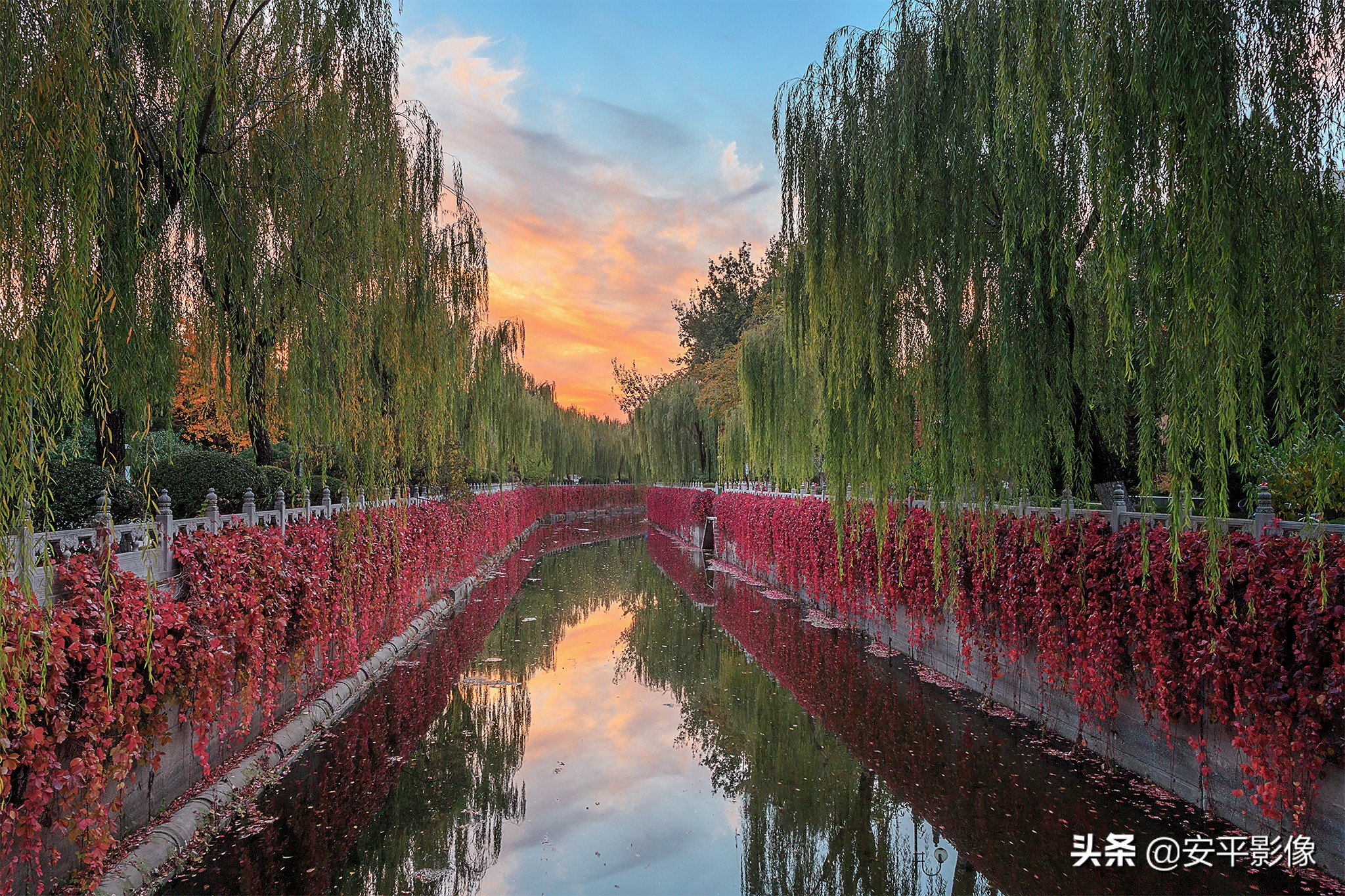 清华大学2020校园秋景,你能看出这些照片是在哪个位置拍的吗
