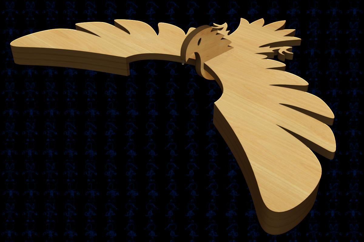 平衡鸟拼装模型激光切割3D图纸 Solidworks设计 附多种格式