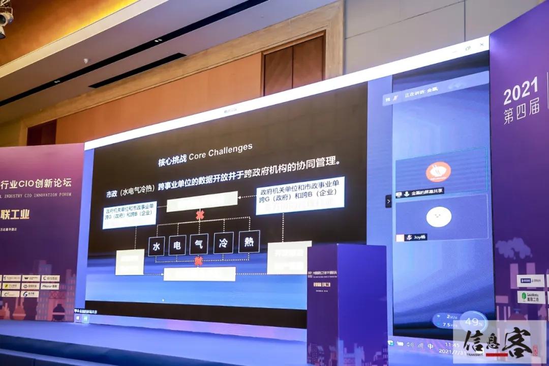 2021第四届中国能源化工行业CIO创新论坛在京圆满落幕