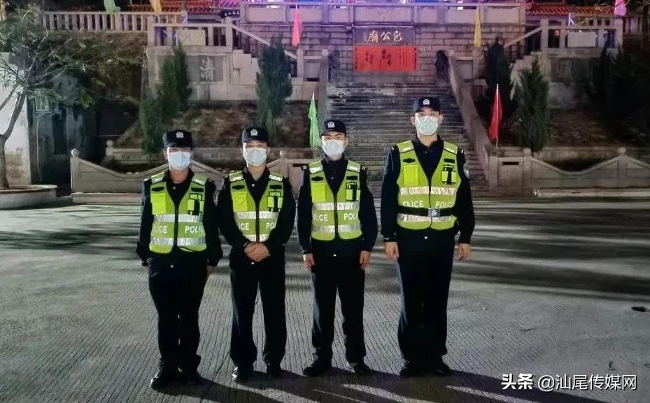 海丰公安突出人性化温情执法 全力做好宗教场所疫情防控工作