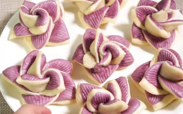 花卷种创意做法 个个像花一样
