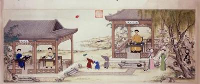 从中国古典家具的演变看古人坐姿礼仪