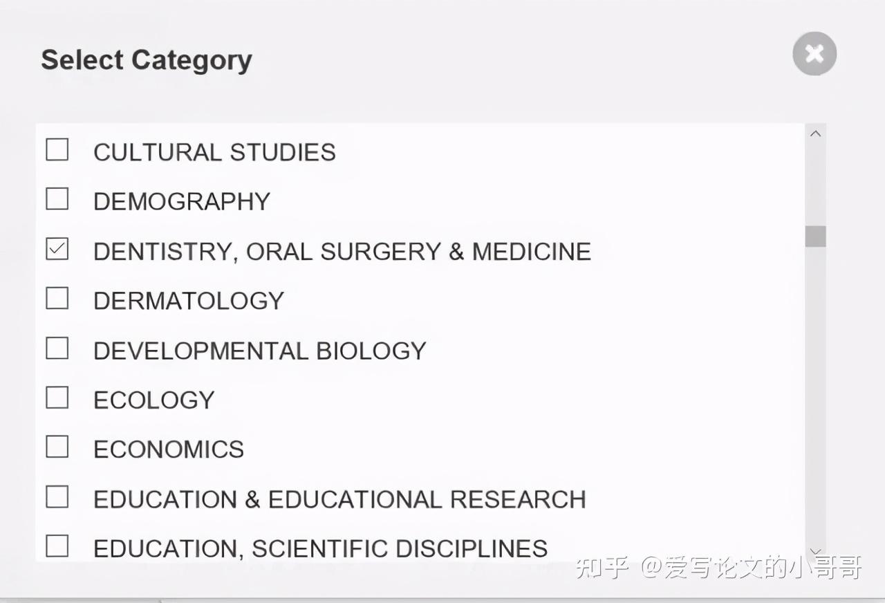 如何找到我研究领域的SCI论文期刊及其IF影响因子排名呢?(转)