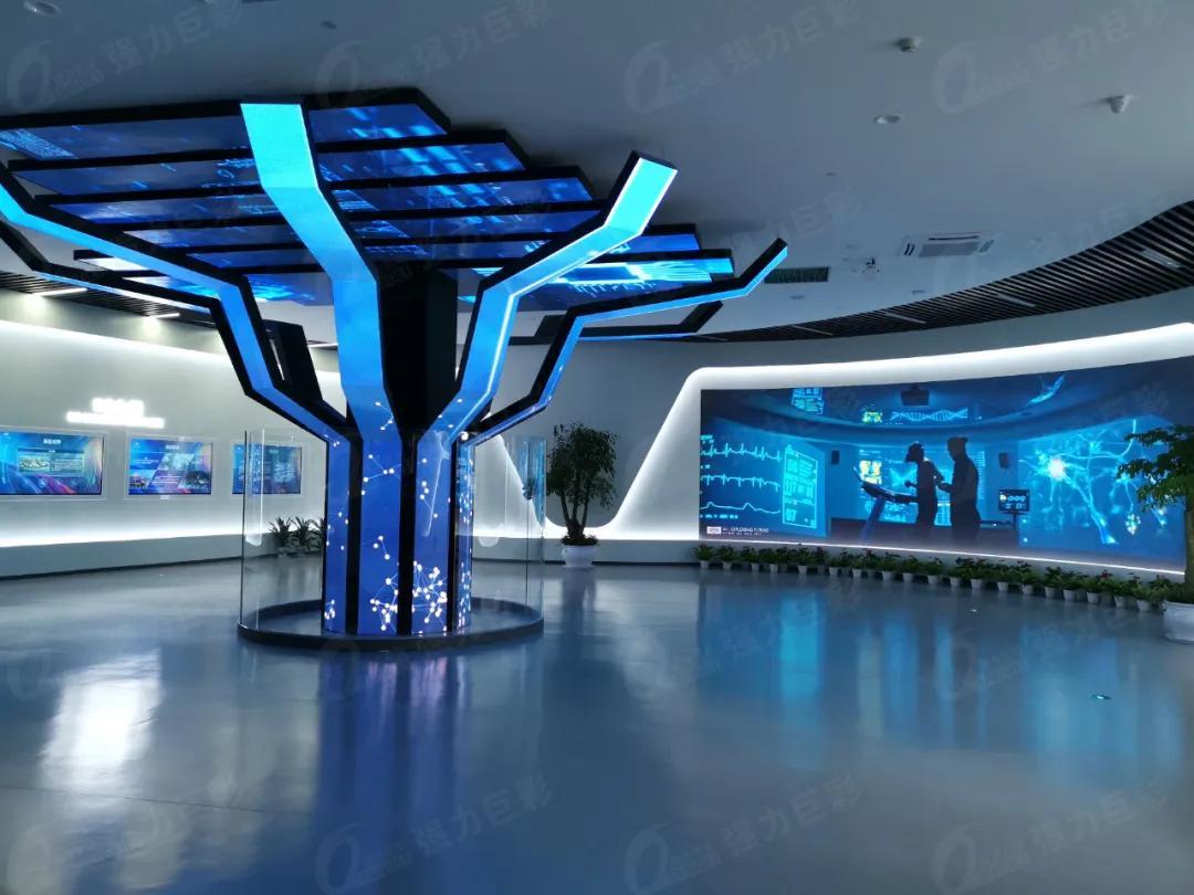 既要形象美又要创意美 这样酷炫的展厅其实……