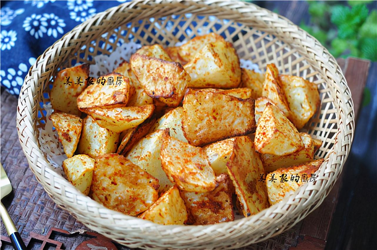 不炒不燉不油炸,土豆切成小丁,上桌就是大硬菜! 好吃又解饞