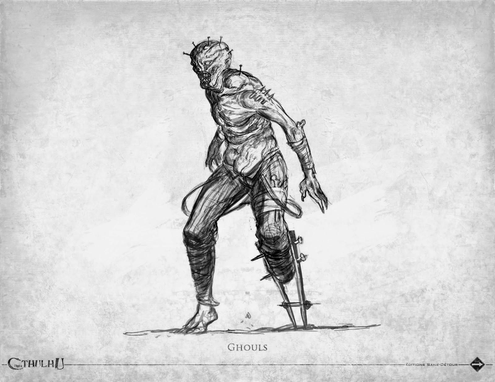 克苏鲁神话生物——食尸鬼