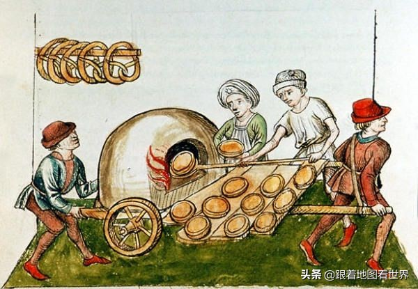 欧洲中世纪13000座城堡:从城堡的兴衰、粮食供应和防御谈起