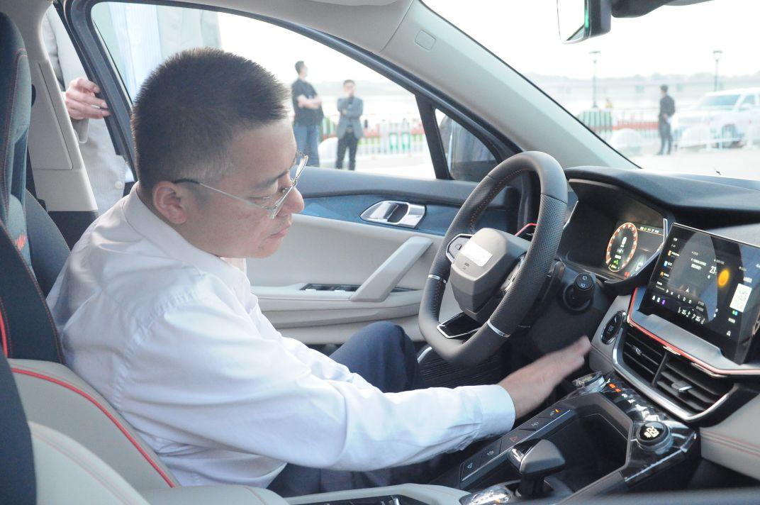 """""""大美于洪・领克之夜""""汽车促消费活动暨新车发布会在丁香湖举行"""