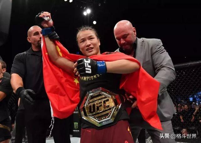 """张伟丽对阵乔安娜获评""""UFC年度最佳比赛""""最强之战实至名归"""