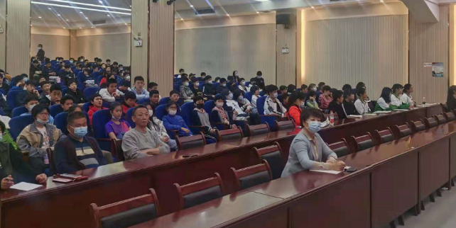 学四史,知国情,跟党走 武汉市体育运动学校开展主题活动
