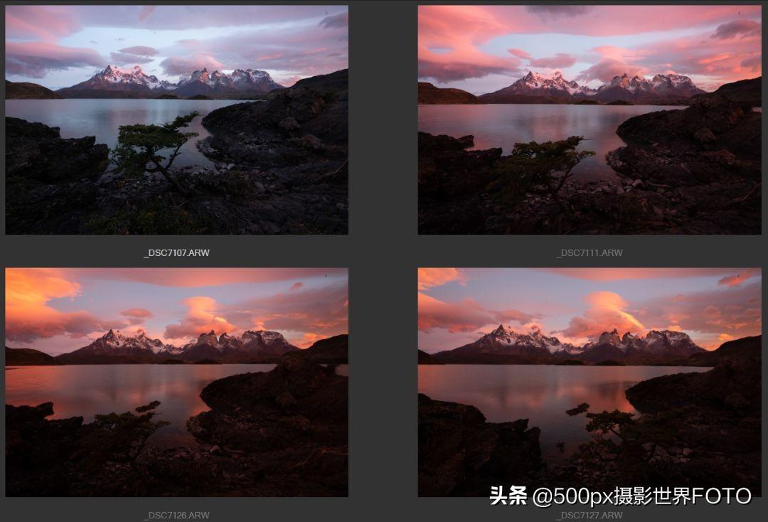 同一张摄影原图,不同摄影师的后期结果也会不一样