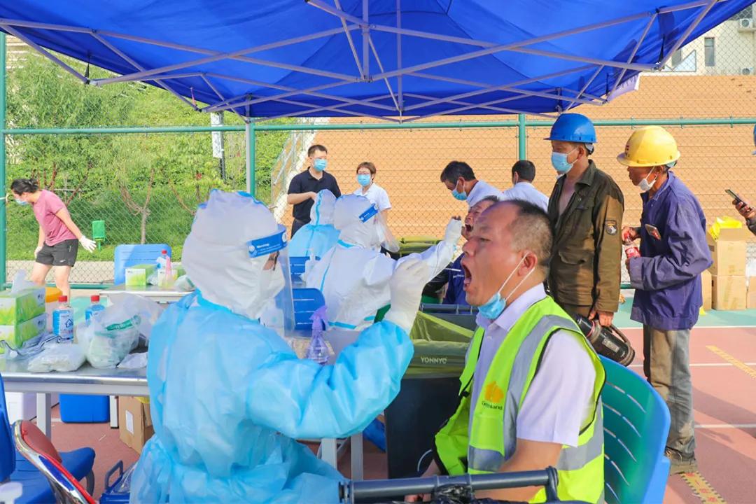 天津市第五中心医院全力完成预防性大规模人群核酸检测筛查工作