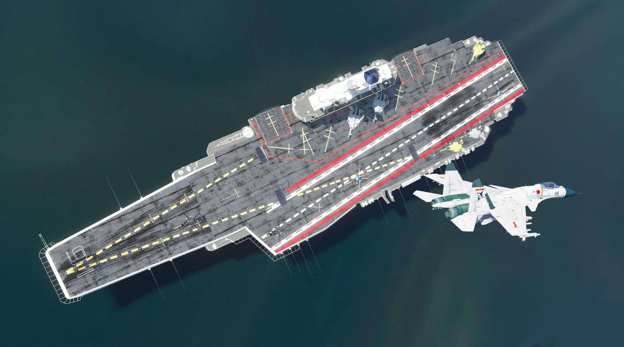 """辽宁舰与""""伊丽莎白女王""""号对上,谁的胜算更大?一切要看舰载机"""
