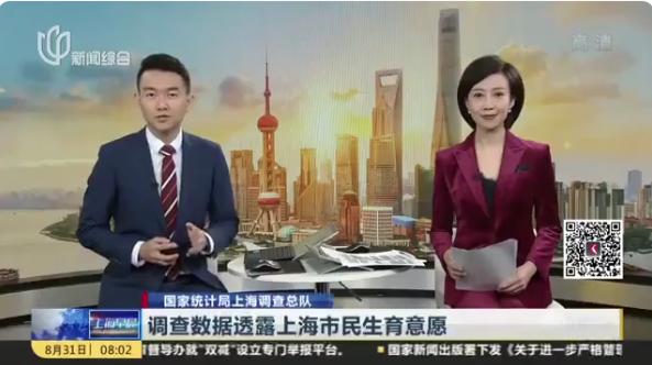 近半上海市民不愿生二胎(原因是个人精力和经济实力)