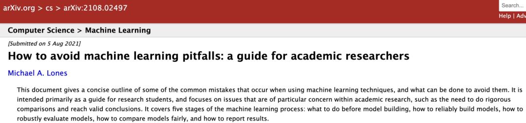 如何写一篇不水的机器学习论文?