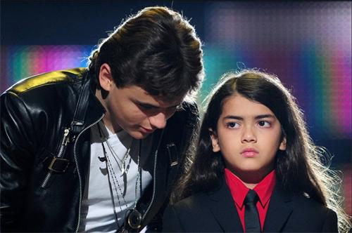 迈克尔杰克逊后代现状:长子得白癜风,女儿成名模,幼子最像父亲